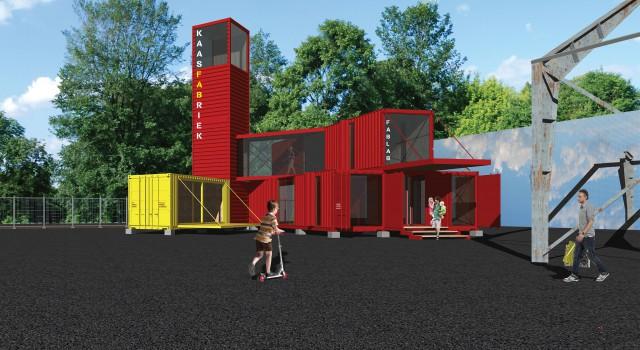 Tijdelijke huisvesting Stichting KAASFABRIEK FabLab, Alkmaar