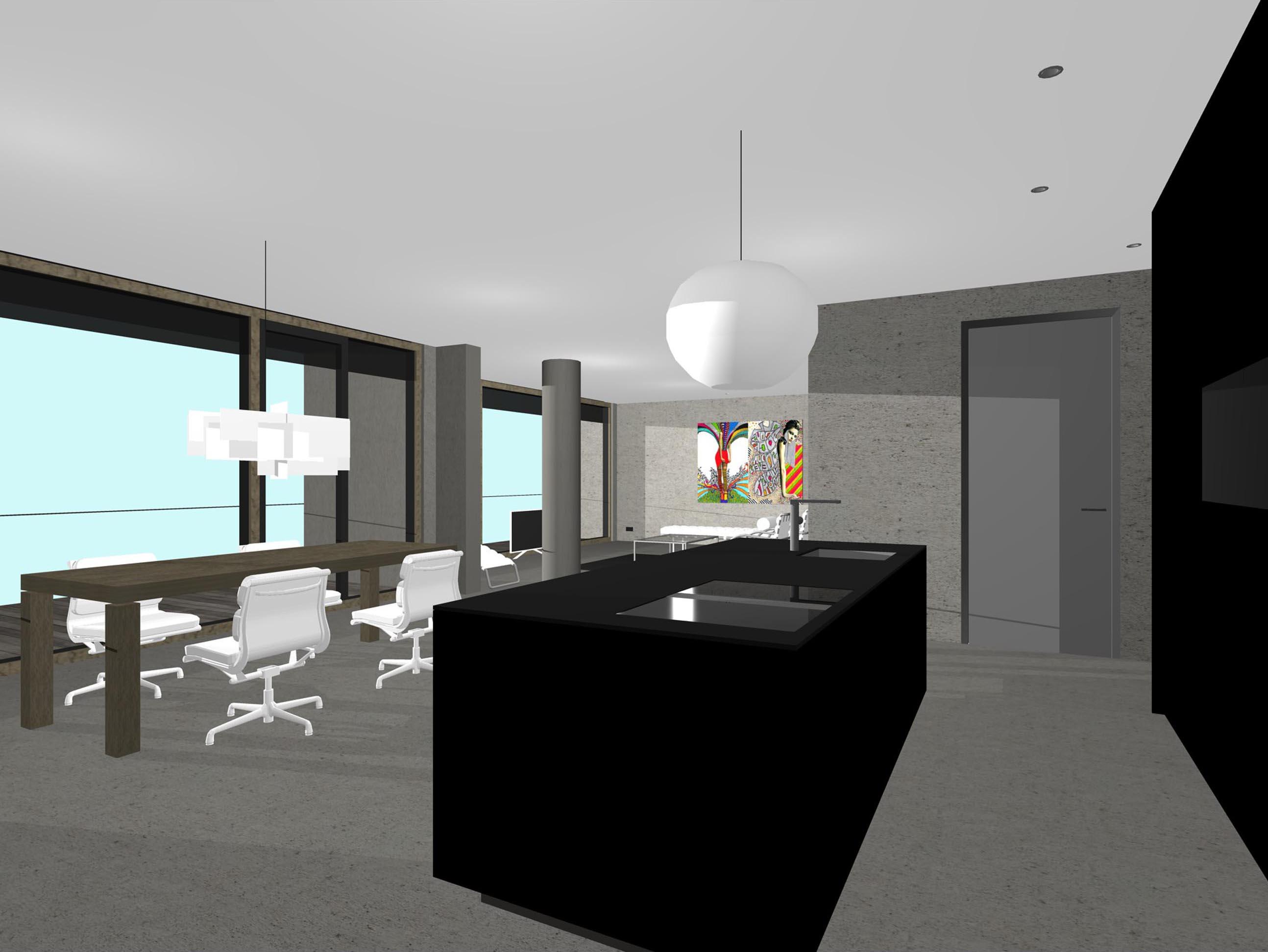Minimalistisch interieur appartement amsterdam studio72studio72 - Appartement interieur ...