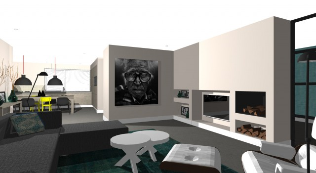 Verbouwing en interieurontwerp alkmaar studio72studio72 for Interieurontwerp