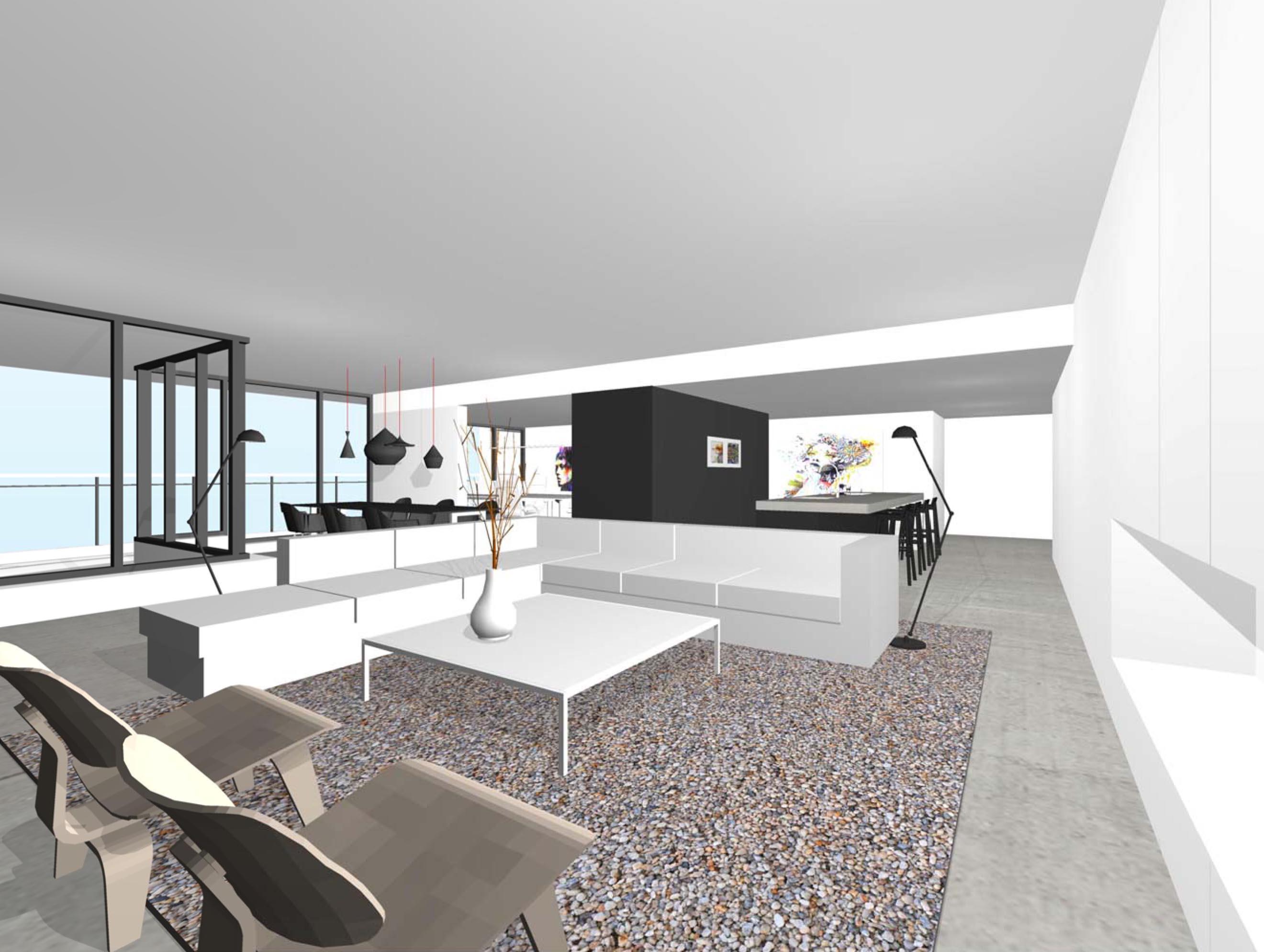 Interieur penthouse alkmaar studio72studio72 - Dachwohnung interieur penthouse ...