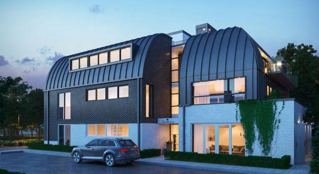 Nieuwbouw appartementen complex, noord holland