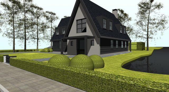 Landelijk moderne villa