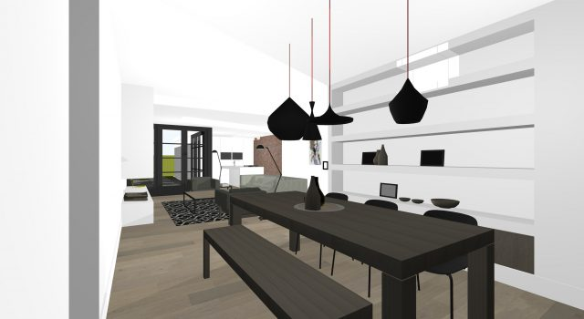Re-stylen en moderniseren woning, bergen NH