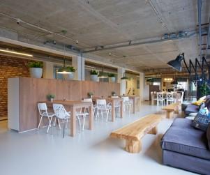 Interieur Ozebo Cafe gedeelte