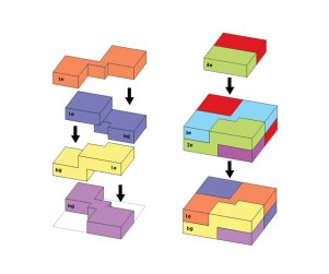 Plattegrond appartementen Weerd 1)a