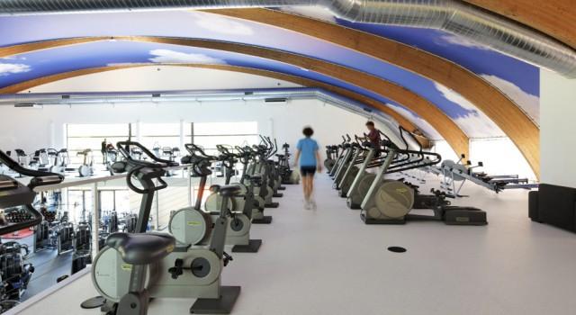 Interieur sportcentrum Victorieplaza