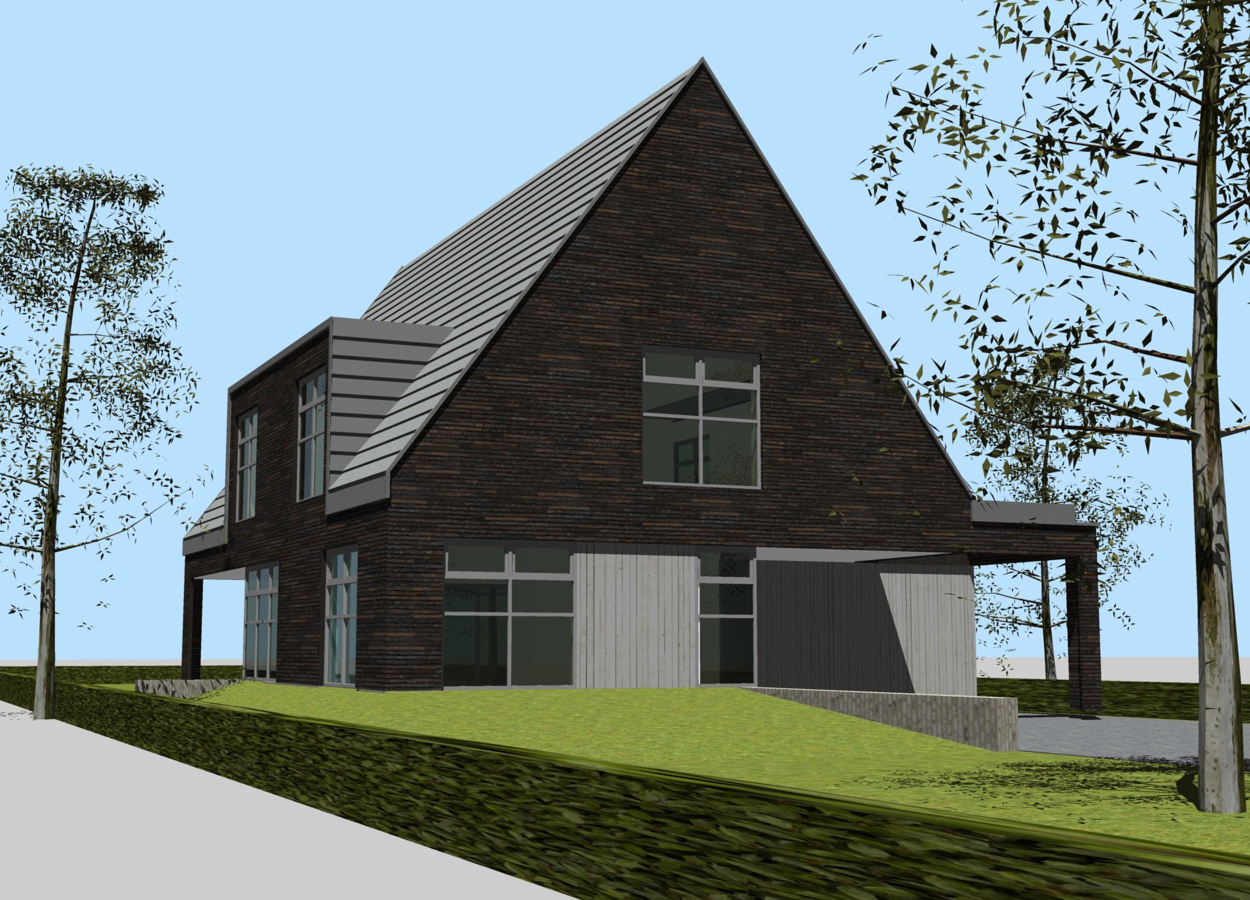 ontwerp nieuwbouw woning bergen nh 1 studio72