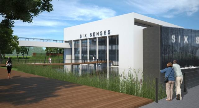 Ontwerpen wellnesscentrum six sense duiven