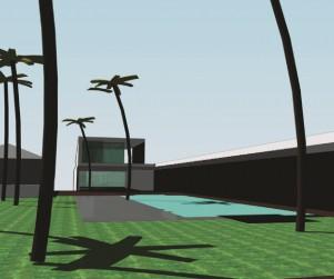 Ontwerp strand villa perth australie - tuin