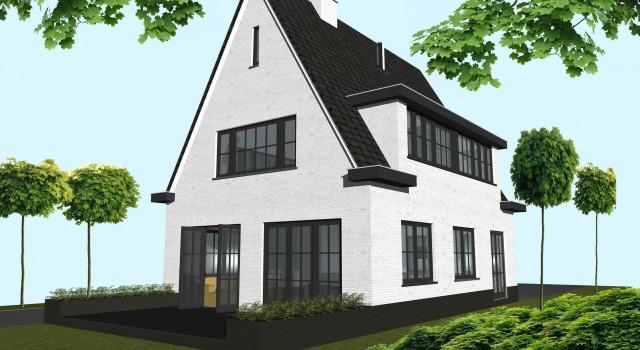 Verbouwing / restyling villa, Zuidlaan 37 Bergen (NH)