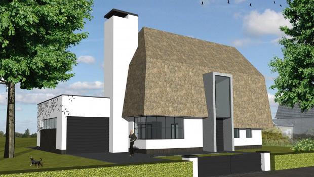 Vrijstaande villa, Aalsmeer