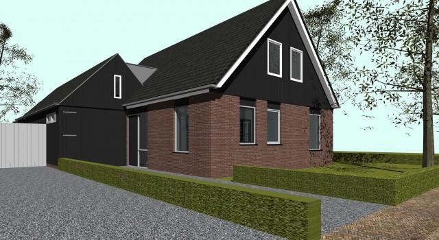 Uitbreiding en verbouw woonhuis, Hoogwoud