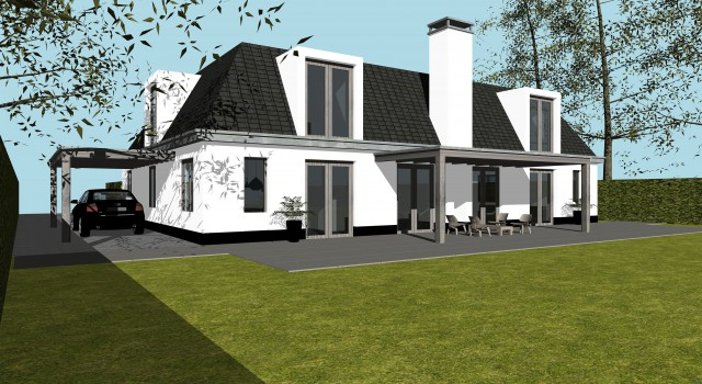 Nieuwbouw villa, Bergen (NH)