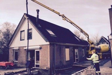 Verbouwing woning Hoogwoud