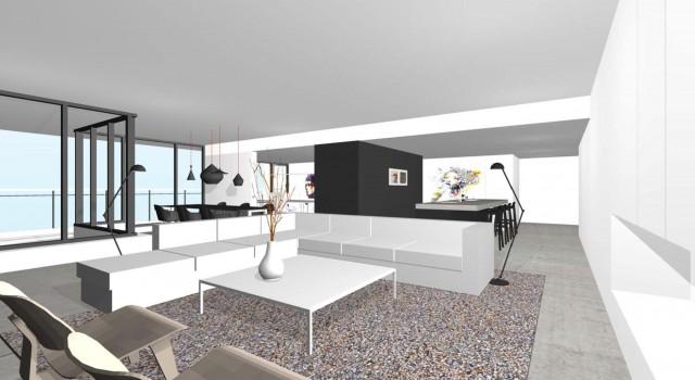 Interieur Penthouse, Alkmaar