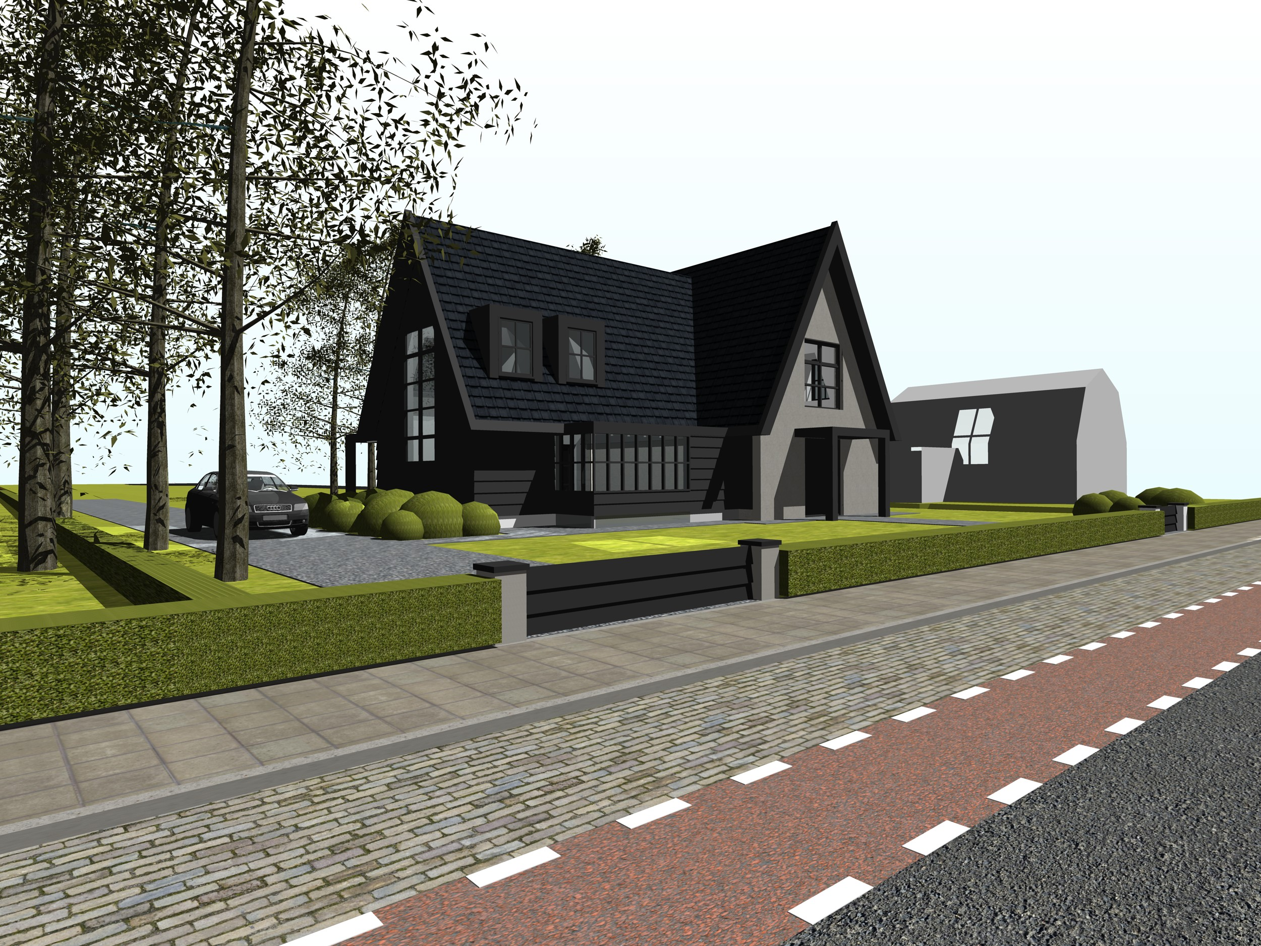 Moderne architectuur woonhuizen sur88 agneswamu for Moderne villa architectuur