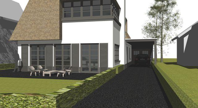 Nieuwbouw vrijstaande woning, Bergen