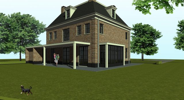 Nieuwbouw herenhuis, Edam