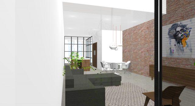 Verbouwing tot Loft-appartement, Alkmaar