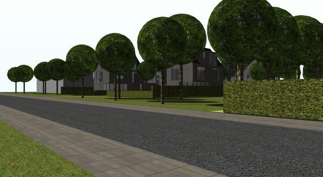 Verkavelingsplan, 5 woningen – Noord Holland
