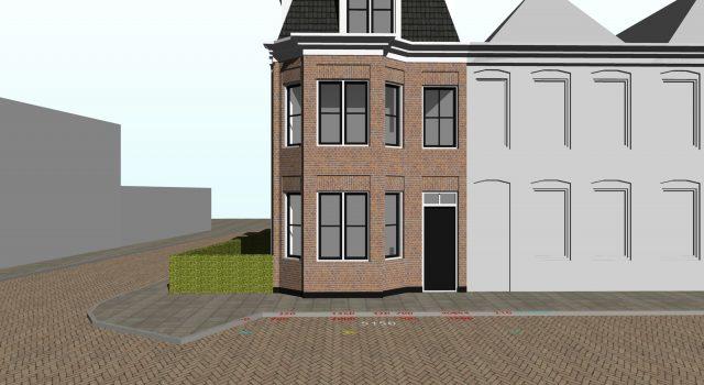Nieuwbouw appartementengebouw, Alkmaar