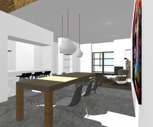 ontwerp verbouwing uitbreiding bouwtekening