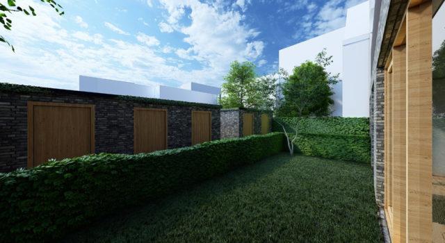 Nieuwbouw appartementengebouw met kantoor / winkelruimte, Noord Holland